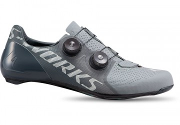 S-WORKS RD 7  SCHOENEN IN  COOL GREY/SLATE