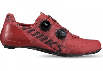 S-WORKS RD 7  SCHOENEN IN CRIMSON