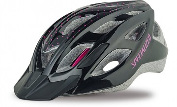 SPECIALIZED DUET DAMES GLOSS BLACK/PINK DOTS