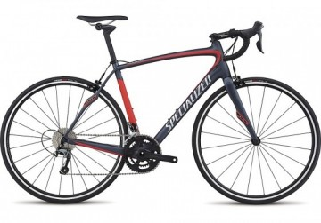 SPECIALIZED ROUBAIX SL4 FRAMESET SATIN CARBON/FLO RED /CLEAN