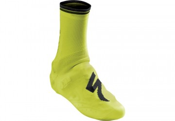 SPECIALIZED SHOECOVER/ SOCK NEON GEEL